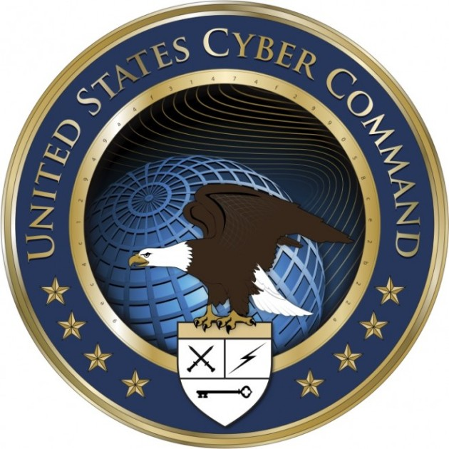 seal of the us cyber command